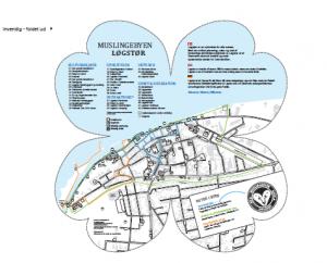 Bykortet præsenterer tre ruter, så byen bindes bedre sammen i turistens hoved, og så de ledes omkring steder, de bør opleve og bruge penge.