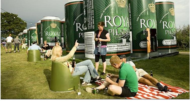 Produktudvikling mellem en festival og et bryggeri – nye overnatningsmuligheder – det er innovation! www.smuk.dk